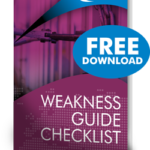 weakness guide checklist
