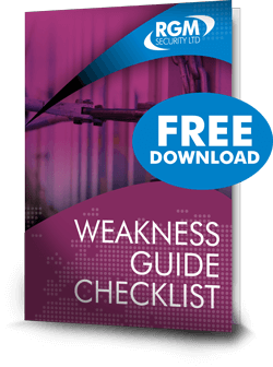 weakness guide checklist
