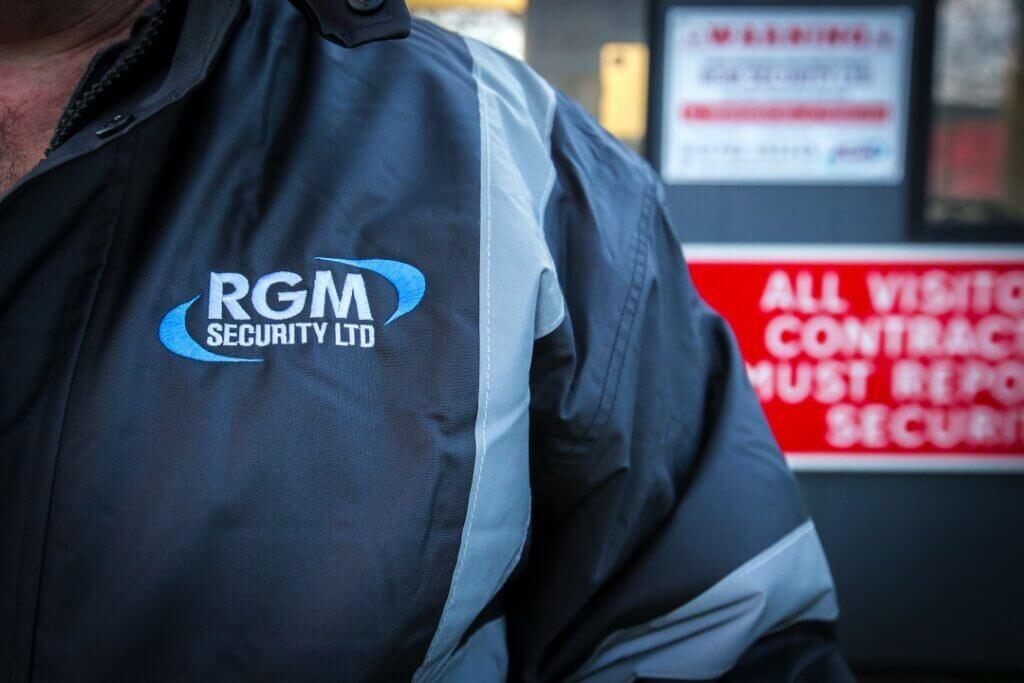 security company logo RGM Security