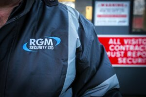 security company logo RGM Security