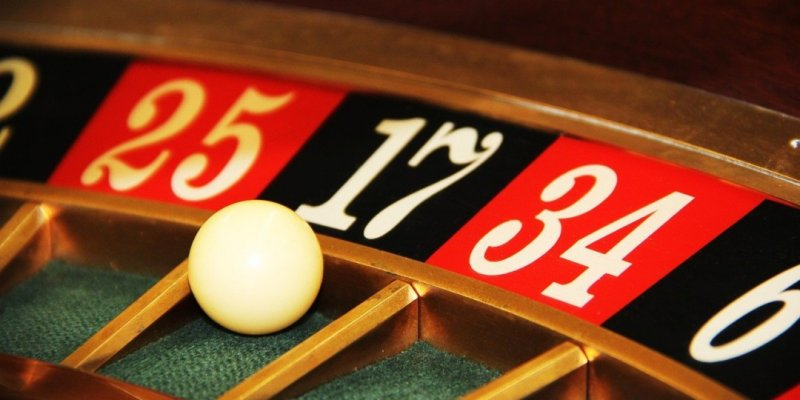 a roulette table to represent gambling with your security as one of the top security mistakes